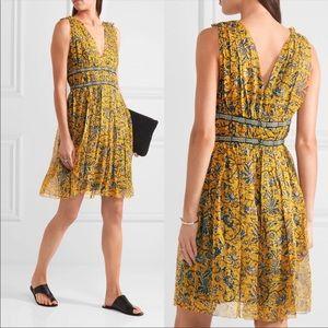 Isabel Marant etolie balzan silk floral dress